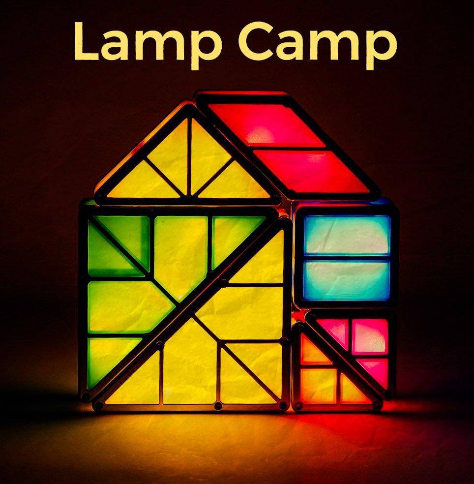 Городские настолкэмпы Lamp Camp
