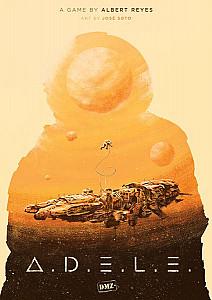 Изображение                                                                                                 настольной игры                                                                                                 «ADELE»