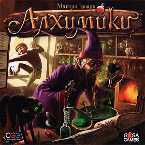 Изображение                                                                                                 настольной игры                                                                                                 «Алхимики»