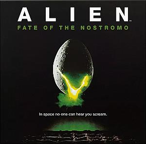 Изображение                                                                                                 настольной игры                                                                                                 «ALIEN: Fate of the Nostromo»
