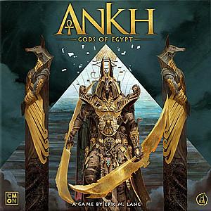Изображение                                                                                                 настольной игры                                                                                                 «Ankh: Gods of Egypt»