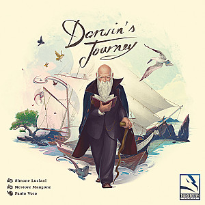 Изображение                                                                                                 настольной игры                                                                                                 «Darwin's Journey»