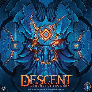 Изображение                                                                                                 настольной игры                                                                                                 «Descent: Legends of the Dark»