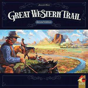 Изображение                                                                                                 настольной игры                                                                                                 «Великий Западный Путь»