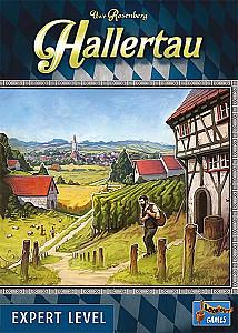 Изображение                                                                                                 настольной игры                                                                                                 «Hallertau»