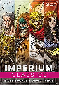 Изображение                                                                                                 настольной игры                                                                                                 «Imperium: Classics»