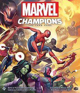 Изображение                                                                                                 настольной игры                                                                                                 «Marvel Champions: The Card Game»