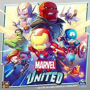 Изображение                                                                                                 настольной игры                                                                                                 «Marvel United»