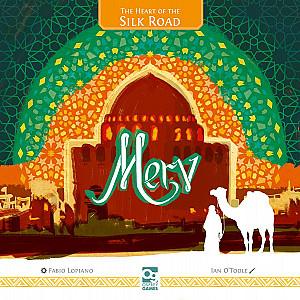 Изображение                                                                                                 настольной игры                                                                                                 «Merv: The Heart of the Silk Road»