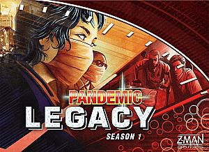 Изображение                                                         настольной игры                                                         «Пандемия. Наследие — Первый сезон»