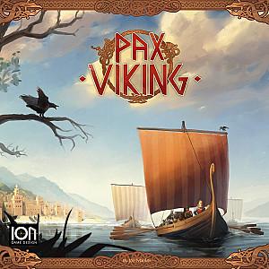 Изображение                                                                                                 настольной игры                                                                                                 «Pax Viking»