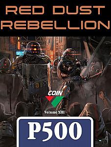 Изображение                                                         настольной игры                                                         «Red Dust Rebellion»