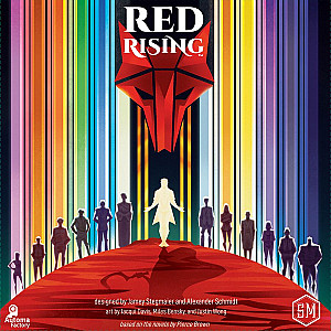 Изображение                                                                                                 настольной игры                                                                                                 «Red Rising»