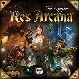 Изображение                                                                                                 настольной игры                                                                                                 «Res Arcana»
