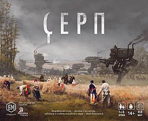 Изображение                                                                                                 настольной игры                                                                                                 «Серп»