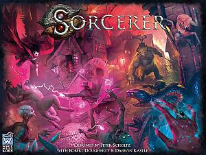 Изображение                                                                 настольной игры                                                                 «Sorcerer»