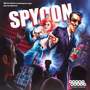 Изображение                                                         настольной игры                                                         «Spycon»