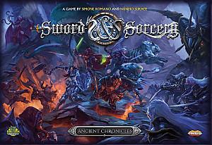 Изображение                                                                 настольной игры                                                                 «Sword & Sorcery: Ancient Chronicles»