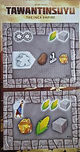 Tawantinsuyu: The Inca Empire - Tantrum House Promo Tiles