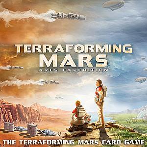 Изображение                                                                                                 настольной игры                                                                                                 «Terraforming Mars: Ares Expedition»