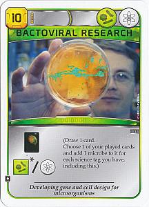 Terraforming Mars: Bactoviral Research