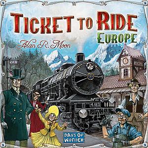 Билет на поезд. Европа