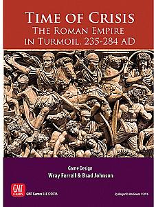 Изображение настольной игры «Time of Crisis: The Roman Empire in Turmoil, 235-284 AD»