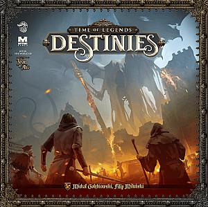 Изображение                                                                                                 настольной игры                                                                                                 «Time of Legends: Destinies»