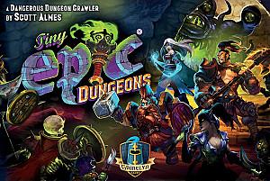 Изображение                                                                                                 настольной игры                                                                                                 «Tiny Epic Dungeons»