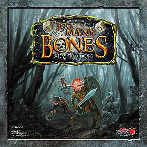 Изображение                                                                                                 настольной игры                                                                                                 «Too Many Bones»