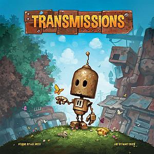 Изображение                                                                                                 настольной игры                                                                                                 «Transmissions»