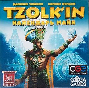 Изображение                                                                                                 настольной игры                                                                                                 «Tzolk'in. Календарь Майя»